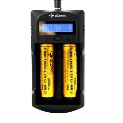 EFAN WF1 LCD 2 Bay Intelligent Battery Charger for Li-ion IMR & AA AAA Batteries