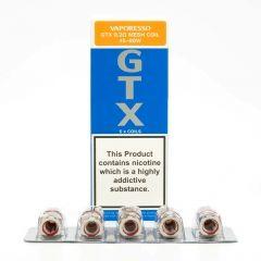 Vaporesso GTX Coils-0.2 Ohms