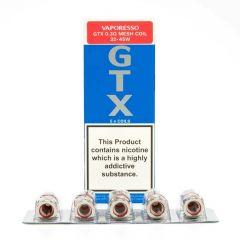 Vaporesso GTX Coils-0.3 Ohms