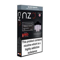 NZO Silver Tobacco 20mg 3 Pack