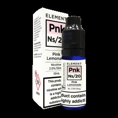 Elements Designer Nic Salts Pink Lemonade 10ml