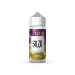 SQZD Fruit Co - Grape Pineapple E-liquid 100ML Shortfill