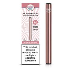 Dinner Lady Strawberry Macaroon Disposable Vape Pen
