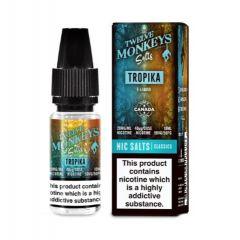 Twelve Monkeys E-Liquid Tropika Nic Salt 20mg