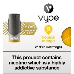 Vype ePen 3 Pods vPro Tropical Mango - Nicotine Salts