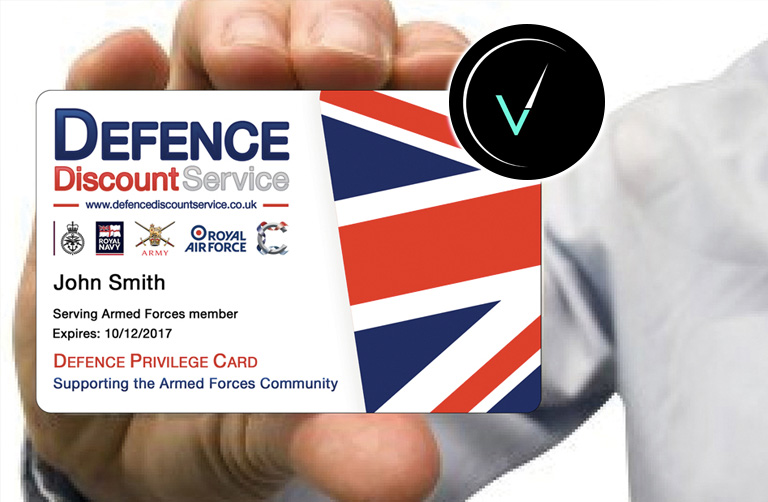 We now offer Defence Discount and Blue Lights service!