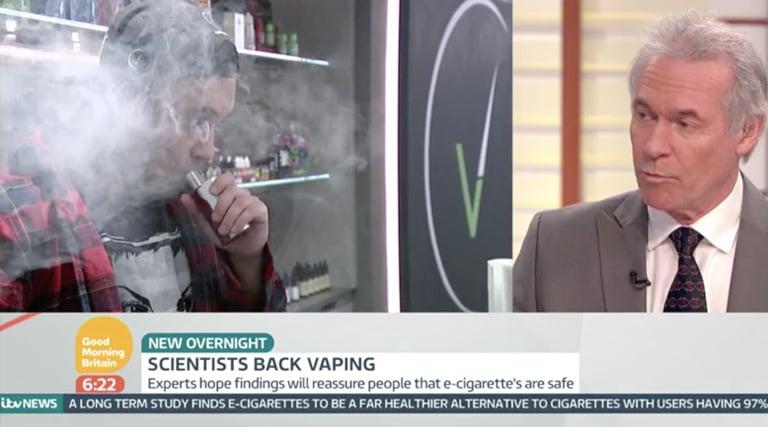 E-cigarettes 97% safer than smoking according to new study