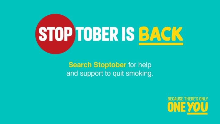Join us for Stoptober!