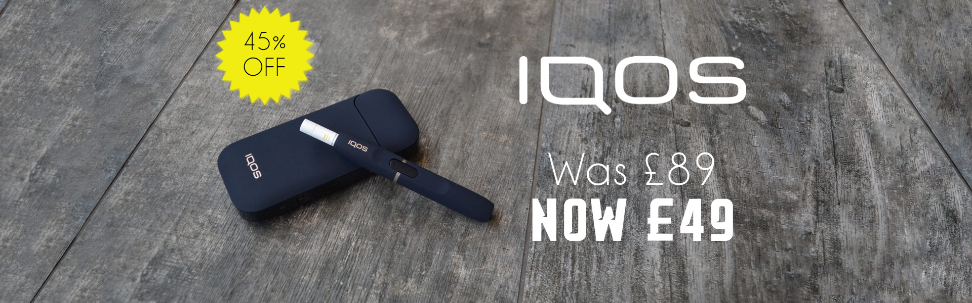 IQOS Kit (Includes 5x HEET Packs)