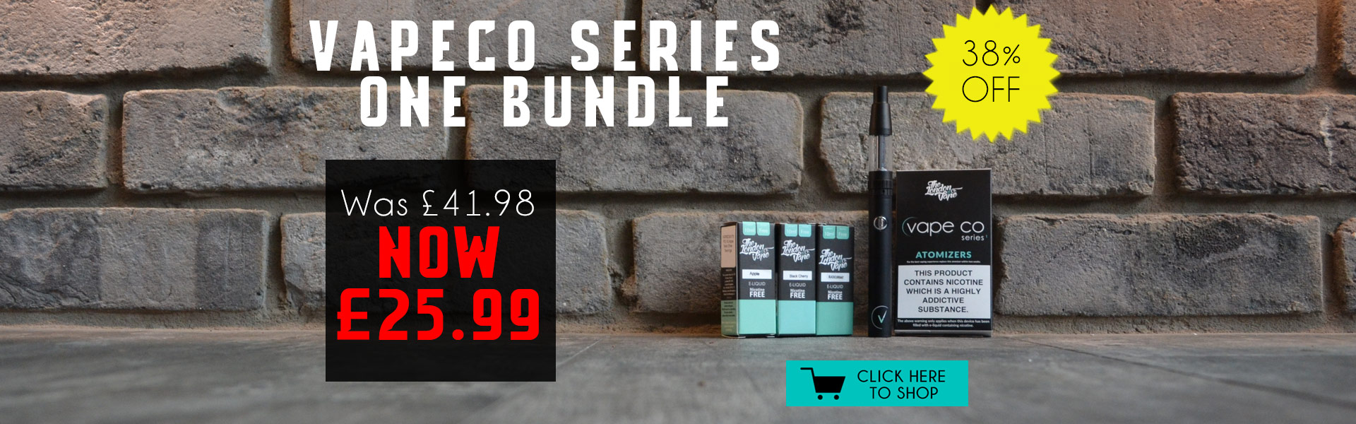 Vape Co Starter Bundle
