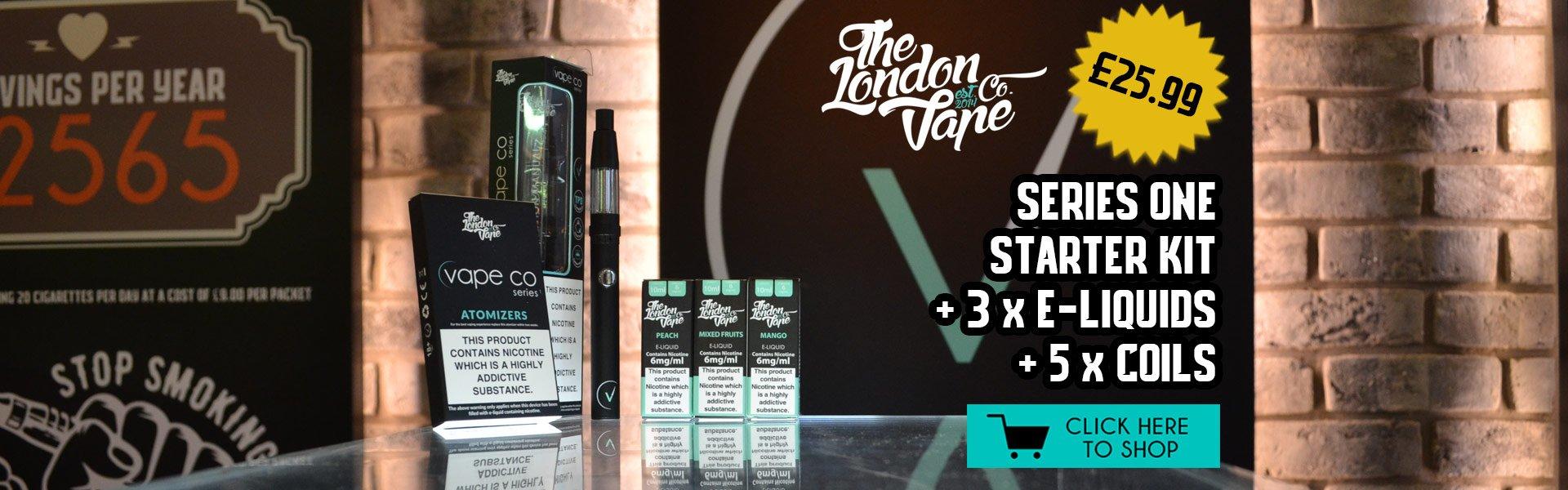 E cigarette UK - The London Vape Co, E liquids, London - E