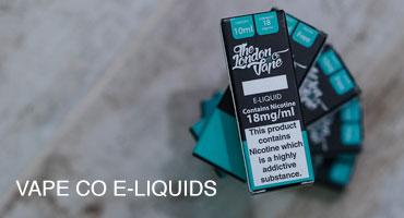 Vape Co e-liquids