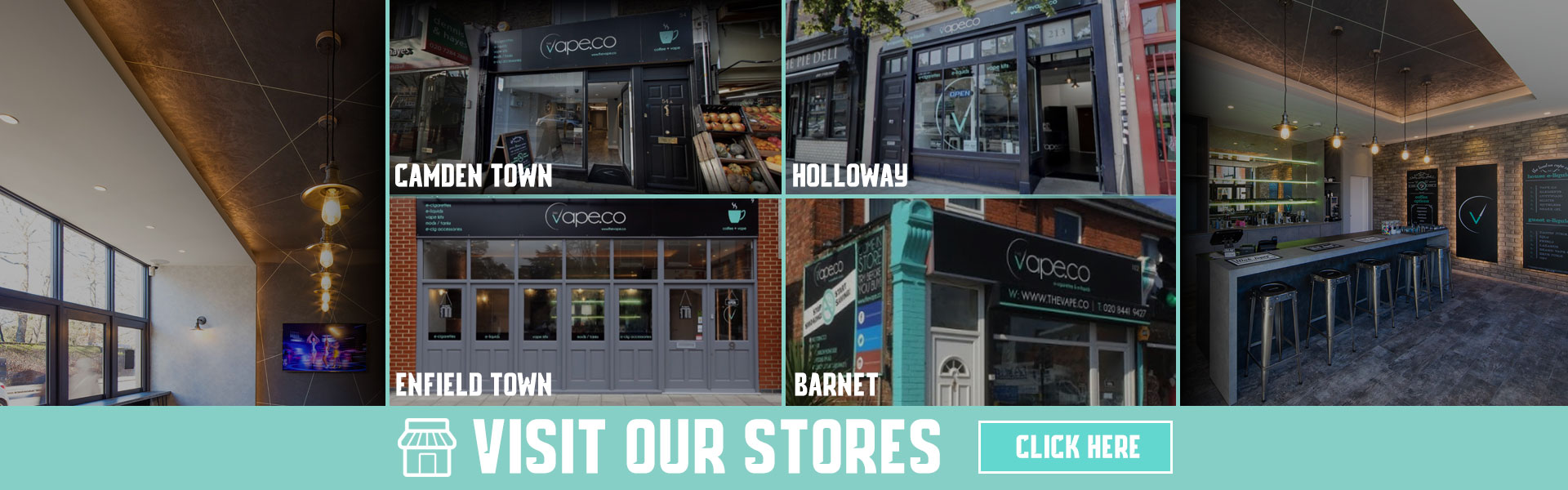 Visit Our London Vape Stores